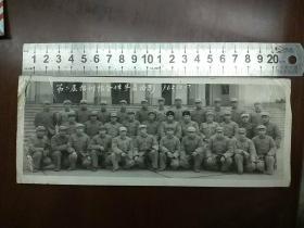 老照片:报训队全体学员留影1965.12.17日