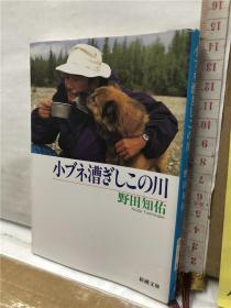 小ブネ漕ぎしこの川 野田知佑 新潮文库 日文原版64开综合书