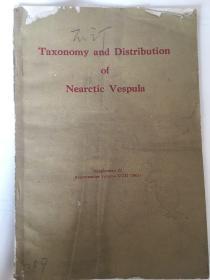 taxonomy and distribution of nearctic vespula(1961)