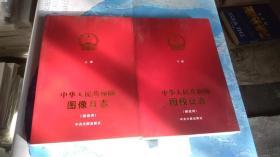 中华人民共和国图像日志 解说词(上下册)两本合售