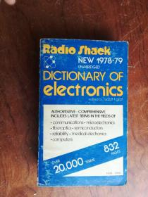 【2617 Radlo shack DICTIONARY OF ELECTRONICS