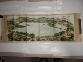 杭州西湖全图