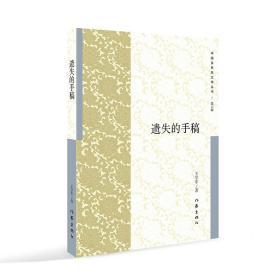 中国多民族文学丛书/第六辑:遗失的手稿