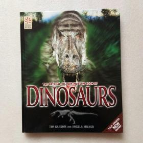 THE NATURAL HISTORY MUSEUM BOOK OF DINOSAURS(英文原版)精装、大16开