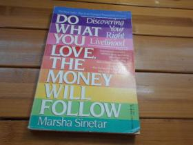 DO WHAT YOU LOVE, THE MONEY WILL FOLLOW    做你喜欢的事,钱就会随之而来