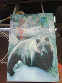日文原版 日本野生动物3 熊