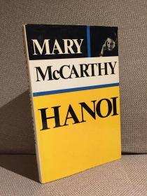 Hanoi(玛丽·麦卡锡《河内》,难得精装本,带护封,1968年英国初版)