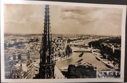 民国中华大学校长王震寰,30年代留学德国期间,游历欧美所收藏明信片一批300多张。加实寄明信片。