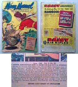 珍稀美国漫画 《 超人漫画 》 1948年 彩色