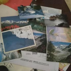英文版风光明信片29张合售