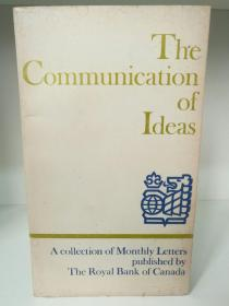 The Communication of Ideas-A collection of Monthly Letters (写作)英文原版书