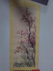 【梅花与兰花 手绘:王金海.天津】