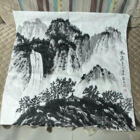 贾振民观瀑亭