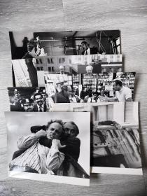 美国故事片《猛警恶匪》黑白电影剧照 包邮挂刷