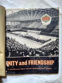 团结和友谊-亚非拉乒乓球友好邀请赛(英文版)缺封底.1973年.12开黑白画册