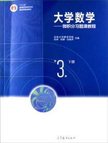 大学数学:微积分习题课教程(下册第3版)
