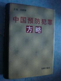 《中国预防犯罪方略》硬精装 冯树梁主编 法律出版社 私藏 品佳 书品如图