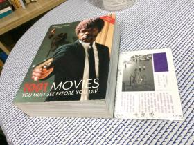 英文原版 1001 Movies you must see before you die  你死前必须看的1001部电影