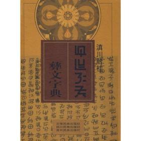 滇川今注彝文字典