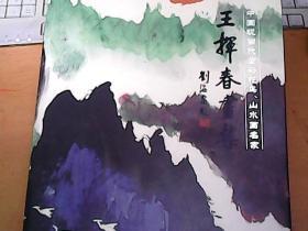 王挥春画集–中国现代代重彩花鸟、山水画名家