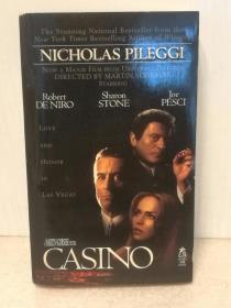 赌城风云 Casino by Nicholas Pileggi (电影原著)英文原版书