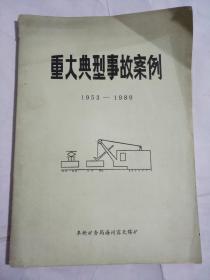 重大典型事故案例1953-1989