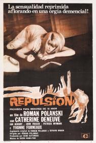 KL 英国 罗曼·波兰斯基 Roman Polanski 冷血惊魂 Repulsion (1965) 厌恶 / 反拨  DVD