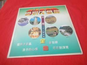 白胶唱片镭射影碟: 爱拼才会赢 台湾TAIWAN金曲(无歌词单)(品相见描述)
