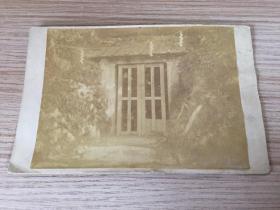 明治時期(清末)日本《鐮倉宮土牢》照片一張,有裝裱
