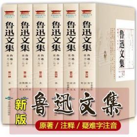 鲁迅文集 6册 鲁迅的书全套 原著 全集
