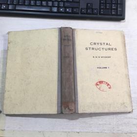 CRYSTAL STRUCTURES晶体结构第1卷(英文)精装