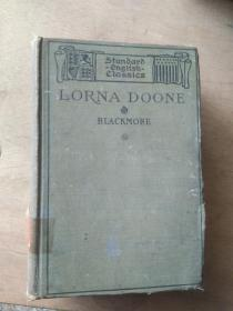 Lorna Doone (A Romance of Exmoor) 1906年版32开精装 馆藏书 英文原版