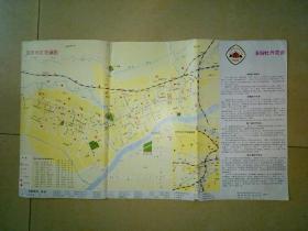 1985年洛阳市区交通图.