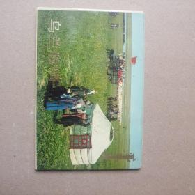 文革明信片:乌兰牧骑(十二张)