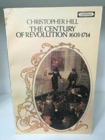 Century of Revolution, 1603-1714 by Christopher Hill (世界史)英文原版书