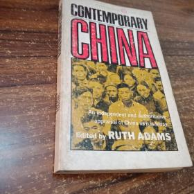【1966年英文原版】CONTEMPORARY CHINA