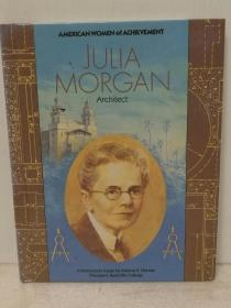 美国首位女建筑设计师 朱莉亚·摩根传 Julia Morgan:Architect (Women of Achievement) by Cary James (建筑)英文原版书