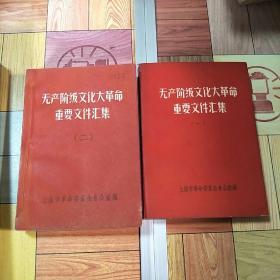 无产阶级文化大革命重要文件汇集(一,二)