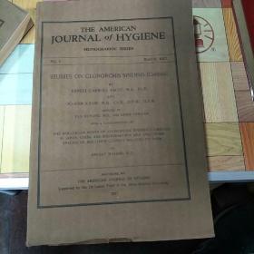 美国卫生杂志》1927年,总第8期