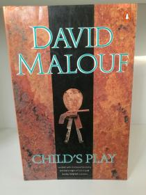 Childs Play by David Malouf (澳大利亚文学)英文原版书