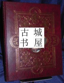 稀缺,限量签名版,《巴黎圣母院的艺术》精美彩色插图,1996年出版,精装