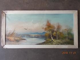 油画(六七十年代,风景)