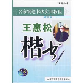 钢笔名家书法教程:王惠松楷书(第2版)