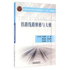铁路线路维修与大修 正版 王兴杰,王秀琴,戴成新  9787113189334