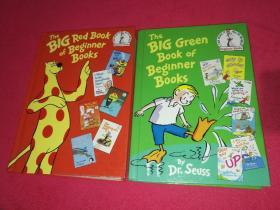 The Big Green Book of Beginner Books+The Big red Book of Beginner Books【二册合售】