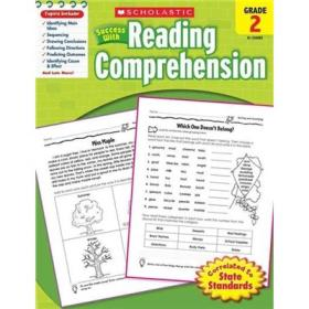 Scholastic Success with Reading Comprehension: Grade 2
