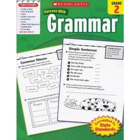Scholastic Success with Grammar: Grade 2 学乐必赢阅读:2年级语法