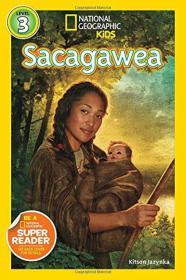 National Geographic Readers: Sacagawea 【正版全新】(此书籍右下角有小瑕疵不影响使用)
