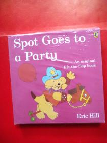 Eric Hill100本必读小波系列翻翻book Spot Goes to a party7款