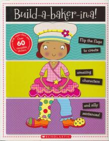 Mix And Match Books:Build A Baker-Ina